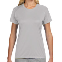 Logo - NW3201 A4 Ladies' Short-Sleeve Cooling Performance Crew
