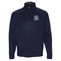 Logo - PF95MR Jerzees Adult 6oz. DRI-POWER® SPORT Quarter-Zip Cadet Collar Sweatshirt